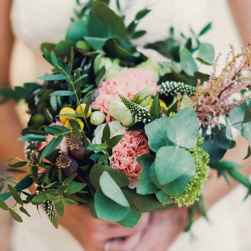 Whimsical Wedding Flowers