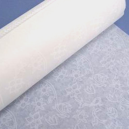Aisle Runner 150' Lace Sure Stay White