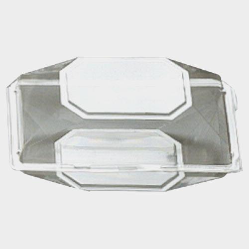 Boutonniere Boxes Clear 5 x 4 x 3 (200 per box)