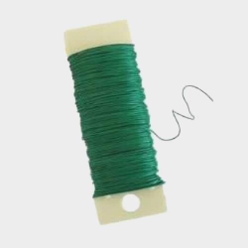 20 Gauge Spool Wire (Green)