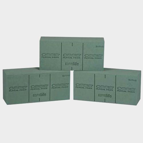 OASIS Instant Floral Foam Bricks (Medium) (48/case)