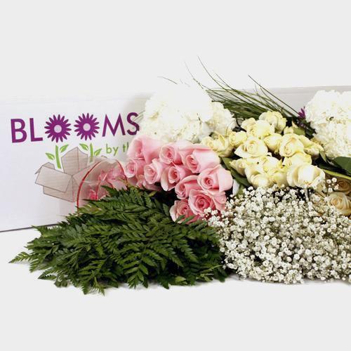 Traditional Rose & Carnation Flower DIY Wedding Pack