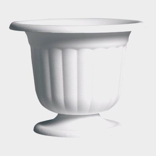 Pedestal Urn White 9.5 H x 8W (12 per case)