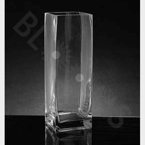 Medium Square Glass Vase (10