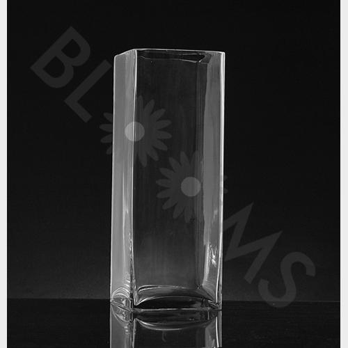 Large Square Glass Vase (16