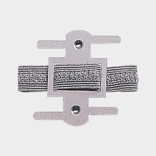 Wristlets - Elastic Silver (20/bg)