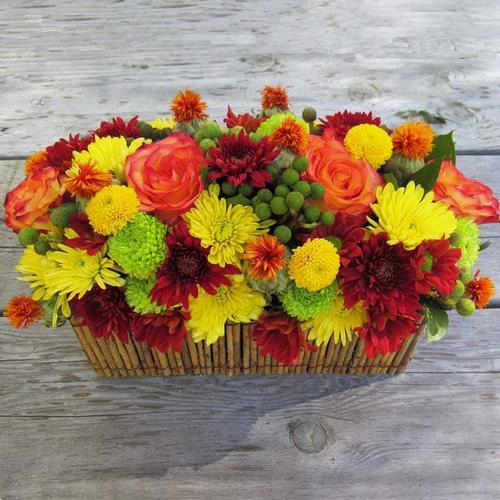 DIY Thanksgiving Flower Pack