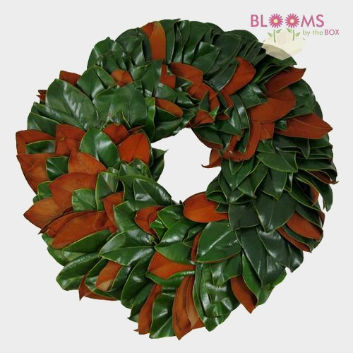Magnolia Wreath 12 Inch