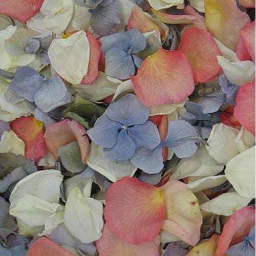 Spring Fling Fd Rose & Hydrangea Petals (30 Cups)