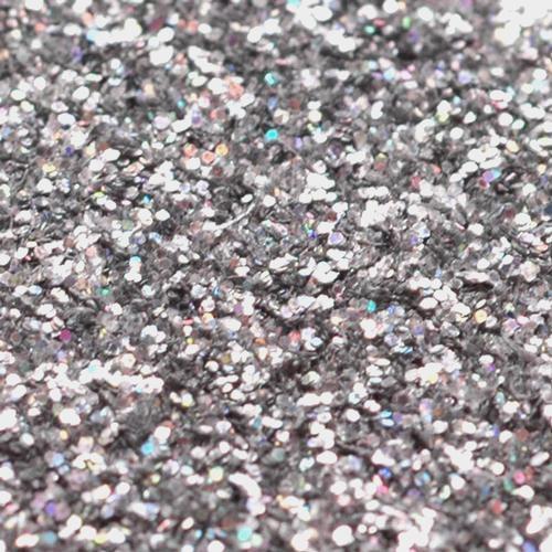 16 Oz  Silver Glitter