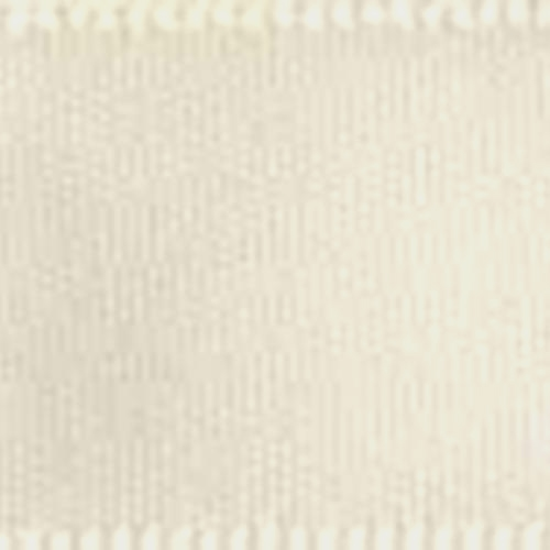 1 1/2 inch Double Faced Satin #9 Ivory 50 Yards