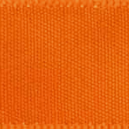 1 1/2 inch Double Faced Satin #9 Tangerine 50 Yards