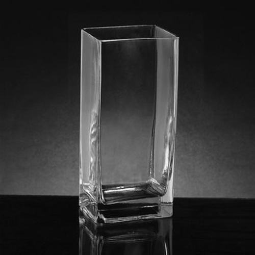 Medium Rectangle Glass Vase (10