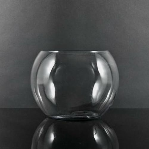 12 Inch Glass Bubble Bowl