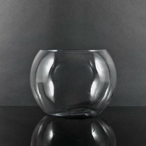 16 Inch Glass Bubble Bowl