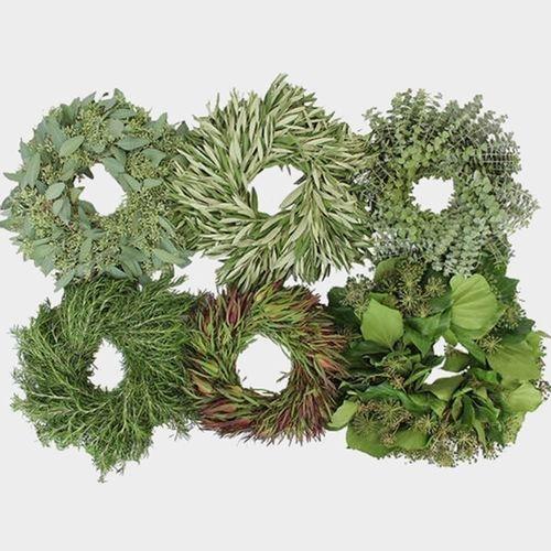 Specialty Greens Wreath 16 Inch