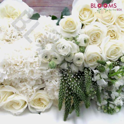 Artisan White DIY Wedding Flower Pack
