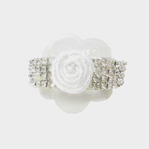 Clear Rhinestone Bracelet Wristlet
