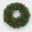 Variegated-Holly Wreath 10