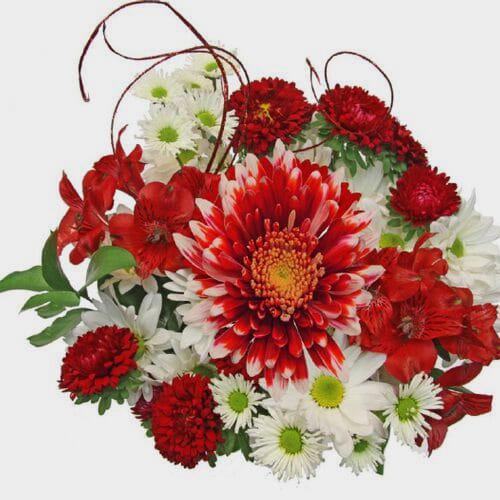 Mixed Bouquet 10 Stem - Christmas Cheer