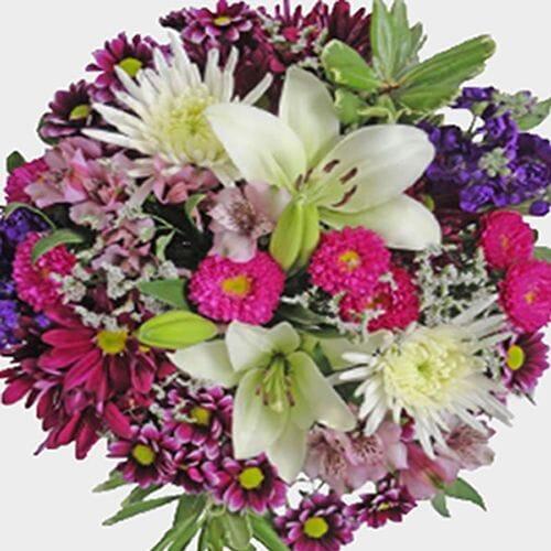 Mixed Bouquet 18 Stem - Crazy Love