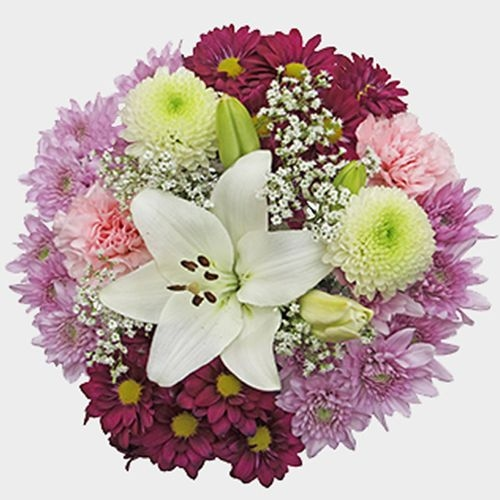 Mixed Bouquet 11 Stem - Honey