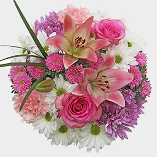 Mixed Bouquet 13 Stem - Darling