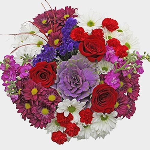Mixed Bouquet 16 Stem - Love Bird