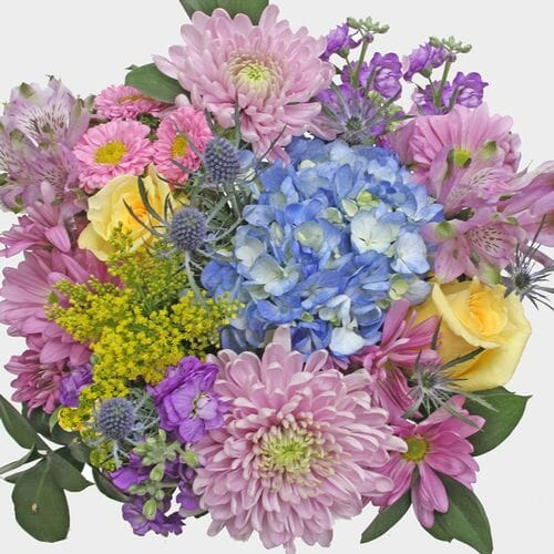 Mixed Bouquet 19 Stem - Pastel Petals