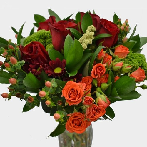 Premium Gift Bouquet - Red Burst