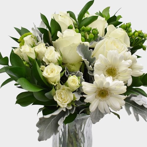 Premium Gift Bouquet - White Light